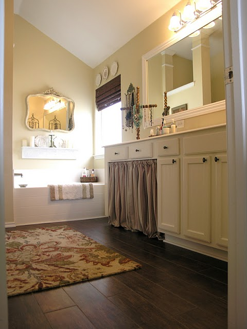 Tile that looks like wood wood look tile bathroom floor Master bathroom tile floor