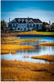 Palatial Two-Story Tudor All-Season Lake House