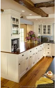 A Kitchen that Overlooks the Next Room