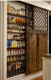 Fabulous Storage with Small Pantry Items