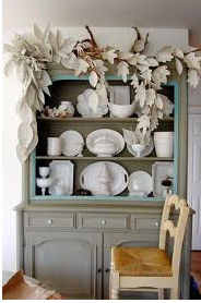 Fairytale Hutch and Book Leaves