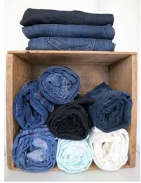 How Organizing Jeans