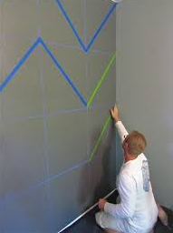 How to Chevron on Walls