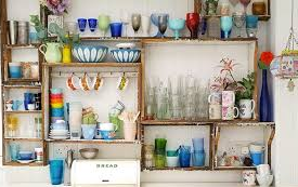 Kitchen Area Decor Recycle Idea