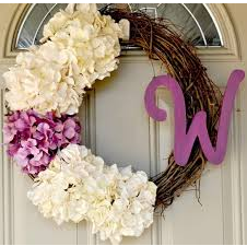 Spring Wreath Made Just for You