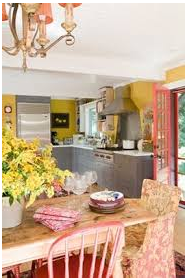 Stylish Farmhouse Kitchen