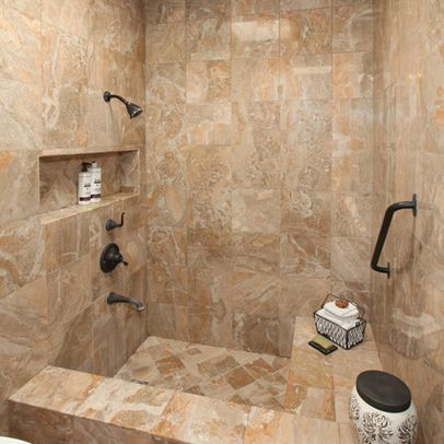 Sunken shower ideas i love decoration for Shower bathtub combo designs