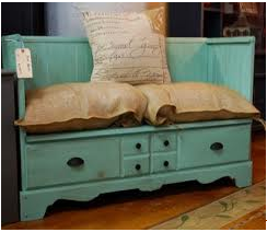 Turn a Dresser into this Beautiful Bench