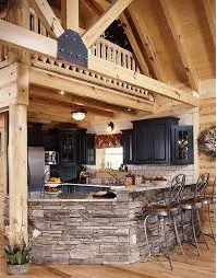 Unique Ideas The Lodge-Style Kitchen & Home in 10 Elements