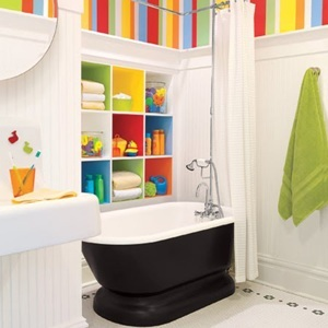 What a Fun Bathroom