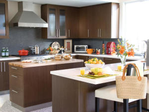 White Gray Brown for Kitchen Colors