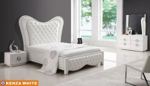 White Tufted Headboard