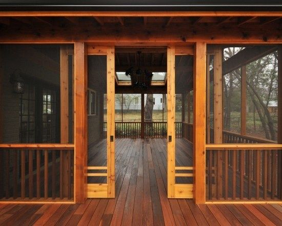 Ever wanted to just close yourself off from the hustle and bustle of everyday life the bugs and people u0026 kids running or walking in and out of your porch ... & New Concept of Sliding Screen Doors| I Love Decoration