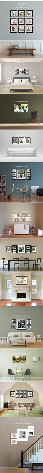 How To Hang Photos or Picture Frames