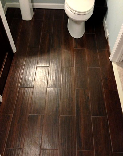 Tile that Looks Like Wood-Wood Look Tile Bathroom Floor Tile