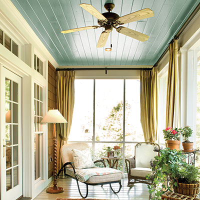 """Haint Blue Ceiling"" Photo Credits: Southern Living"