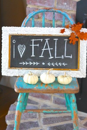 fall sign idea