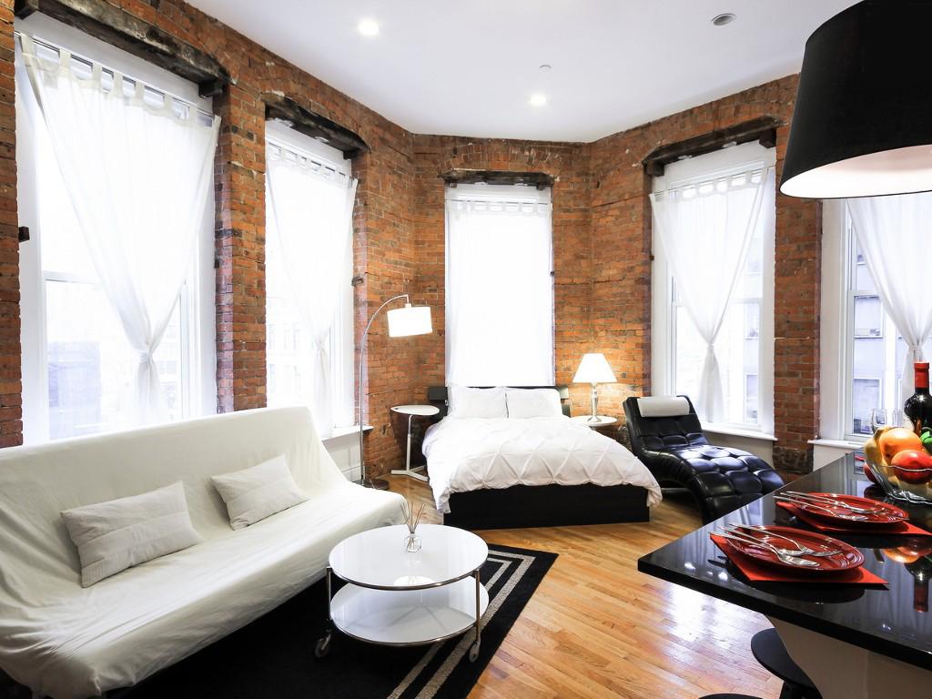 Strange Studio Apartment Living Home Interior And Landscaping Eliaenasavecom